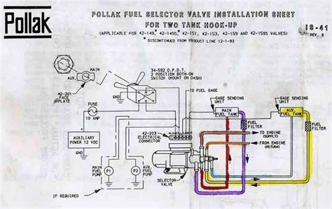Ford Fuel Tank Selector Valve Wiring Diagram by Resolved Help Pollak 6 Port Problem Ih8mud Forum