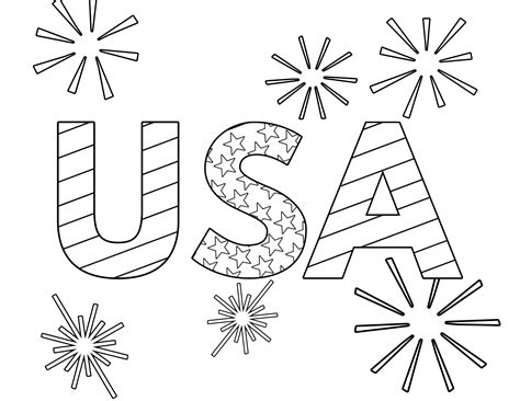 printable   july coloring pages paper trail design