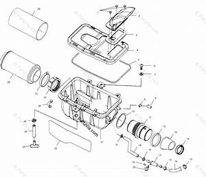 Polaris Atv 2001 Oem Parts Diagram For Air Box