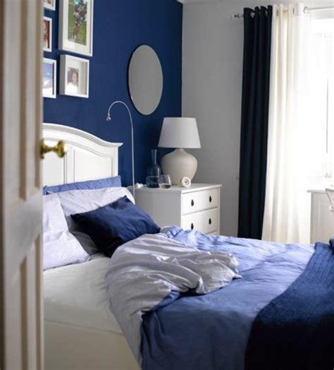 chambre adulte bleu 1001 idées pour une déco maison couleur indigo