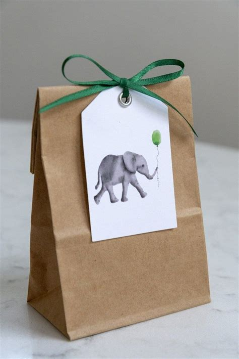 With it, this baby boy invitation looks charming. Baby Elephant Gift Tags | Baby gift wrapping, Printable ...