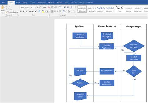 create  swimlane diagram  word lucidchart