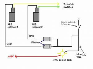 Arb Air Locker Wiring Diagram