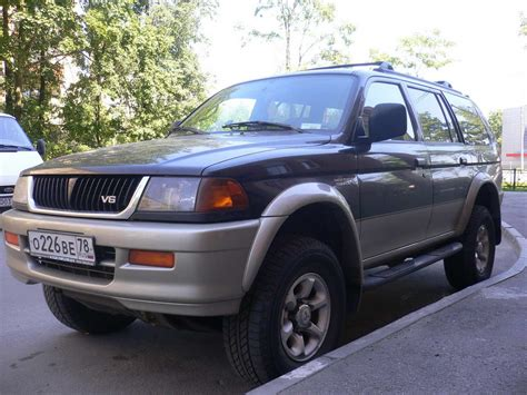 mitsubishi montero sport mitsubishi montero sport 2001 lifted image 70