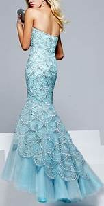 Ice Blue Mermaid Wedding Dress | www.pixshark.com - Images ...