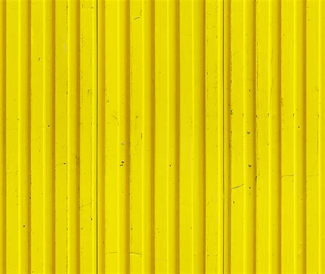 white wood fence panels technical yellow metal fence seamless texture
