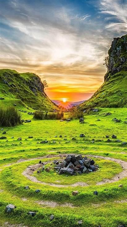 4k Nature Scotland Skye Isle Fairy Glen