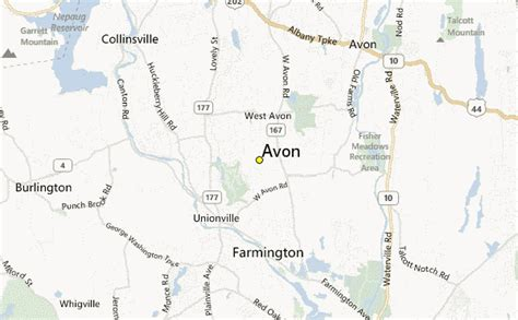 avon weather station record historical weather for avon