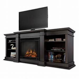 Real Flame Fresno Entertainment Unit with Electric Fireplace