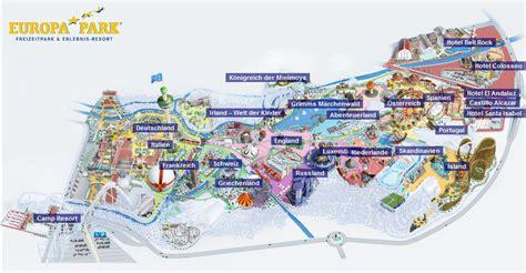 Karte Europa Park Rust