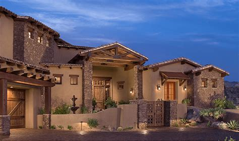 Southwestern Style Homes by Title Eagles Nest Architecture Series Southwest Ranch
