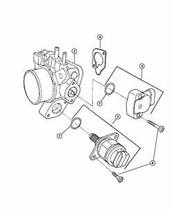 Chrysler Town  U0026 Country Throttle Body  Engine  Smpi  Fuel