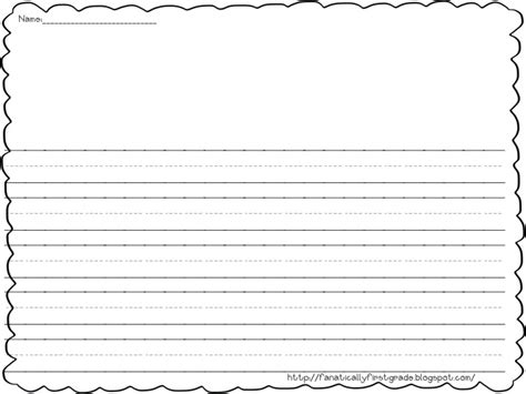 Letter Writing Paper Template For First Grade Homeshealthinfo