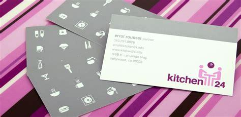 kitchen  branding logo business cards menu