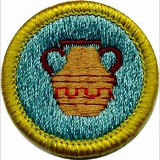 Pottery Merit Badge For Boy Scouts (shows Requirements)  Girl Scouts  Pinterest  Merit Badge