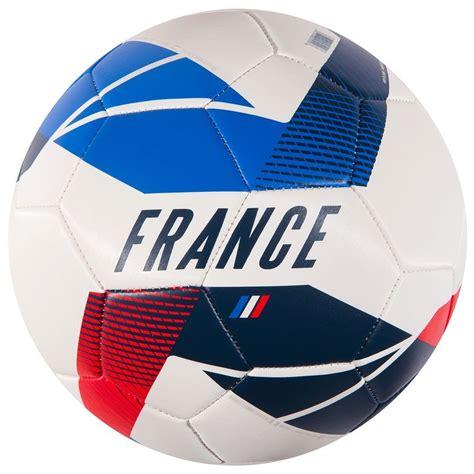 le ballon de foot taille 5 bleu blanc decathlon