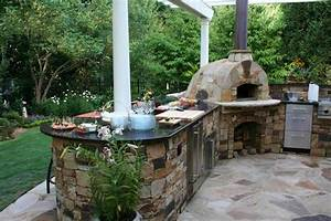 15 ideas for highly functional traditional outdoor With outdoor kitchen pizza oven design