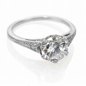 vintage engagement rings 2015 special collections With wedding band for antique engagement ring