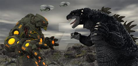 Godzilla Vs Kaiju Destroyer Grizzly 1 By
