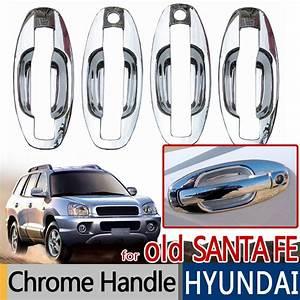 For Hyundai Santa Fe 2001 2006 Accessories Chrome Trim