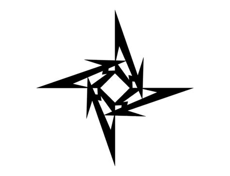 tribal star tattoos designs  meanings