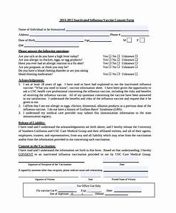 9 vaccine consent form templates sample templates for Vaccination consent form template