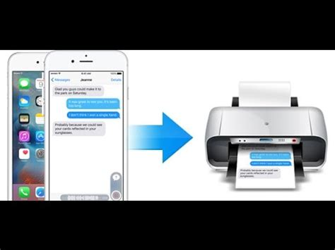 how to print text messages from iphone 5 how to print text message from iphone