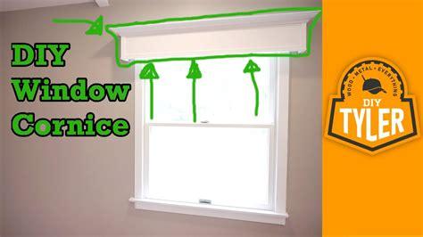 Simple Cornice by Simple Diy Window Cornice