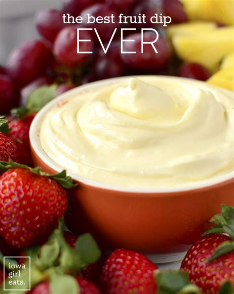 The Best Fruit Dip Ever Iowa Girl Eats Bloglovin