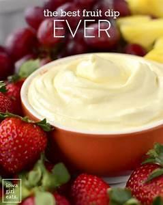 The Best Fruit Dip Ever Gluten Free Fruit Dip Recipe