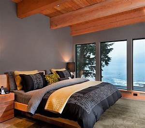 Cheerful, Sophistication, 25, Elegant, Gray, And, Yellow, Bedrooms