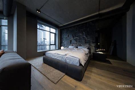Moderne Wandgestaltung Schlafzimmer by Wandgestaltung Mit Steinwand Im Schlafzimmer Ein
