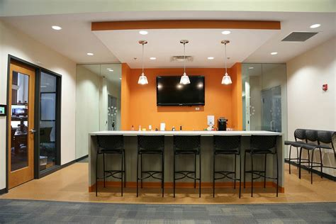 Bar For Office by Take A Look At Corvisa S Milwaukee Headquarters Officelovin