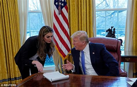 Trump White House Hope Hicks