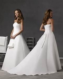 Robe Simple Mariage : robe de mari e simple et elegante courte ~ Preciouscoupons.com Idées de Décoration