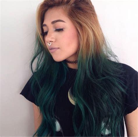 braune haare ombre braune haare mit blondem ombre unten blau f 228 rben blaue haare