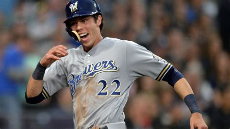 Christian Yelich To Miss Game With Oblique Stiffness