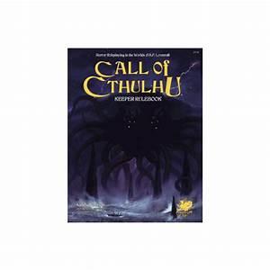 Call Of Cthulhu Rpg 7th Ed Keeper Rulebook  Hc