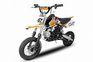 Dirt Bike Automatique 10  12 110 125 Cc Nitro Storm