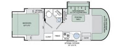 floor plans siesta sprinter motorhomes class c rv by thor motor coach siesta 24sr rv class b