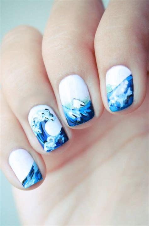 summer beach nails  wont  pretty designs