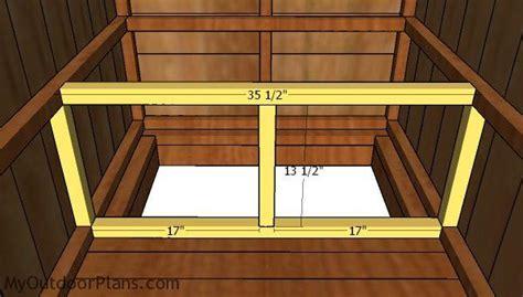 simple outhouse plans part  myoutdoorplans