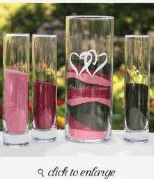 75 best sand ceremony vases frames wedding unity sand ceremony supplies images sand