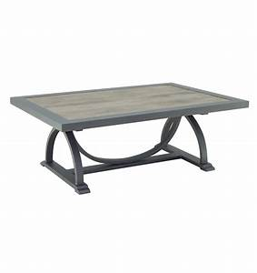 arches large rectangular coffee table castelle luxury With large square outdoor coffee table