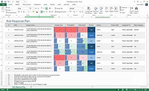 Risk Register Template Excel Free Download Risk Management Plan Template Ms Word Excel Templates