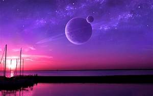 Planet, Sea, Sunset, Beach, Water, Space, Wallpapers, Hd, Desktop, And, Mobile, Backgrounds