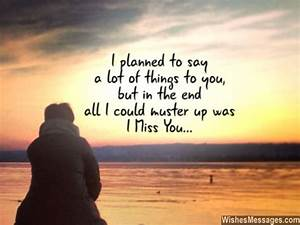 I Miss You Messages for Wife: Missing You Quotes for Her ...