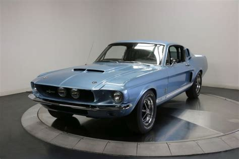 amazing mustang gt 500 1967 shelby gt500 blue original 4 speed