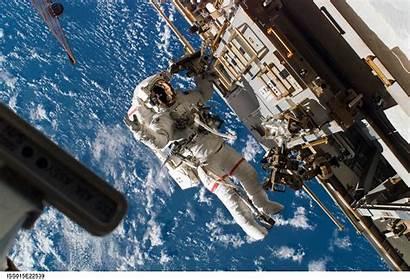 Nasa Space Station Astronaut International Iss Background