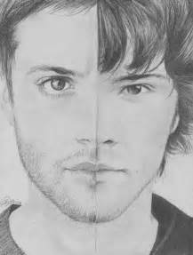 Supernatural Sam and Dean Winchester Drawing